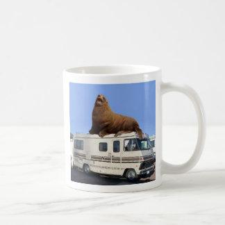 Sea Lion on a Winnebago Coffee Mug