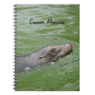 Sea Lion Summer Memories Photograph Notebooks