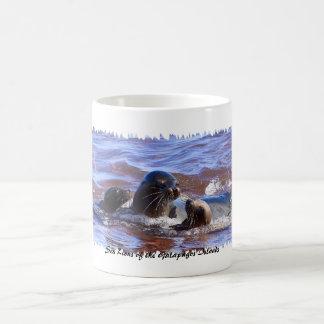 Sea Lions of Galapagosa Coffee Mug