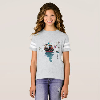 Sea Lover Retro Japanese illustration T-Shirt