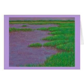 Sea Marsh Card