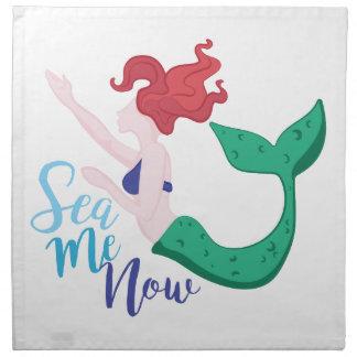 Sea Me Now Napkin