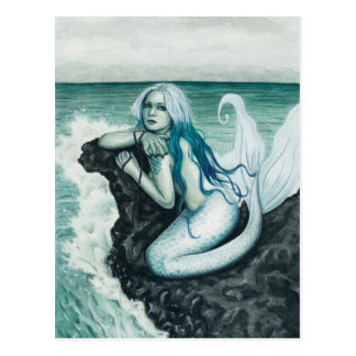 Sea Mist Mermaid Postcard