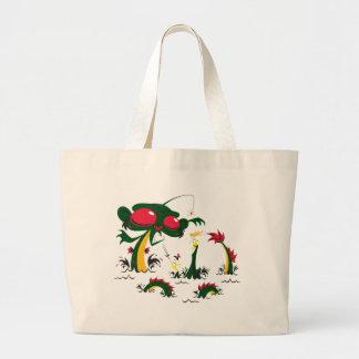 sea-monkey tote bag