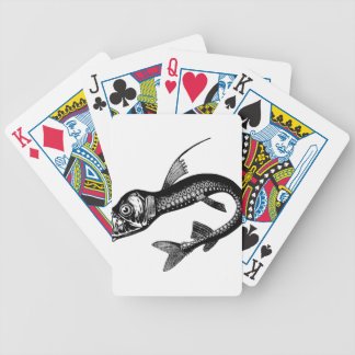 Sea Monster Bicycle Playing Cards