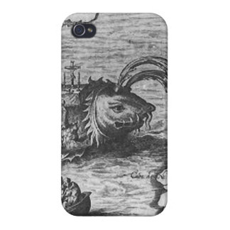 Sea Monster/Creature/Kraken iPhone 4/4S Cover/Case iPhone 4 Cover
