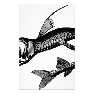Sea Monster Stationery