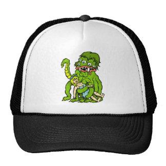Sea Monster & The Girl Trucker's cap