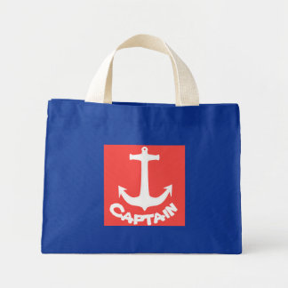 Sea / Nautical Theme Anchor Captain Tote Bag