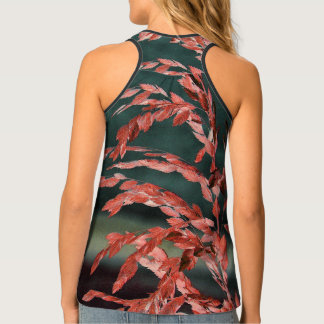 Sea Oats Abstract Singlet