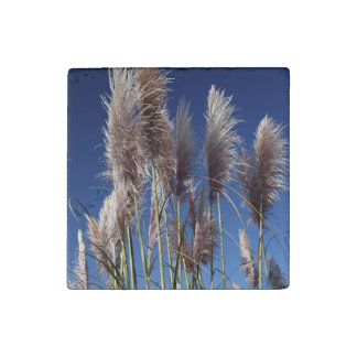Sea Oats and Wind Stone Magnet