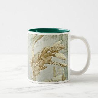Sea Oats Outer Banks NC Series Two-Tone Coffee Mug