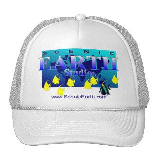 Sea Ocean Earth Blue Aquatic Ocean Baseball Cap