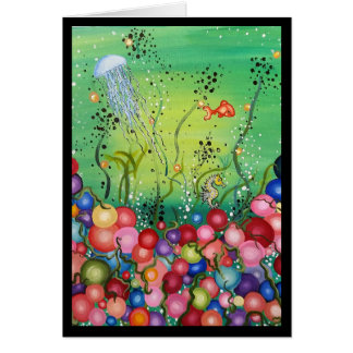 Sea of Color- Greeting Card, Blessings Card