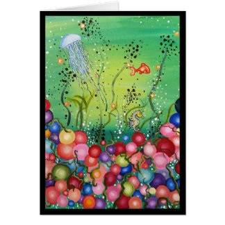 Sea of Color- Note Card, Blank Card