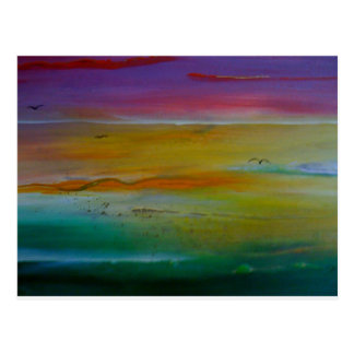 SEA OF COLOURS POSTCARD