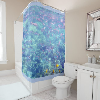 Sea of Fish Shower Curtain