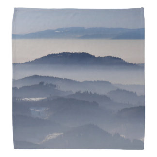 Sea of Foggy Mountains Bandana