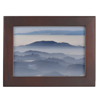 Sea of Foggy Mountains Keepsake Box