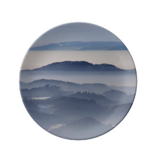 Sea of Foggy Mountains Plate