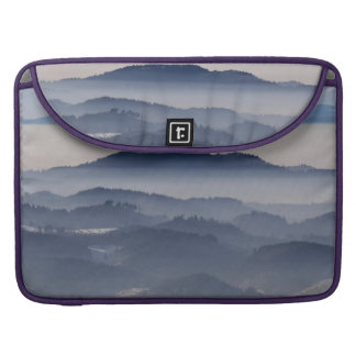Sea of Foggy Mountains Sleeve For MacBook Pro