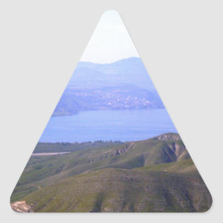 Sea of Galilee Triangle Sticker