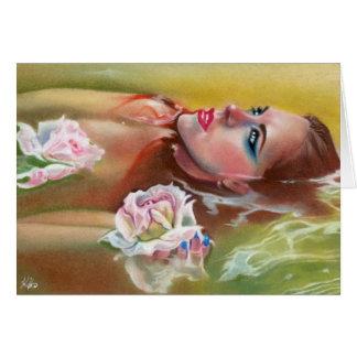Sea of Roses Mermaid Ophelia Water Card