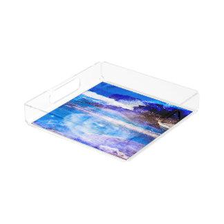 Sea of Serenity Acrylic Tray