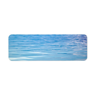 Sea of Tranquility Background Return Address Label