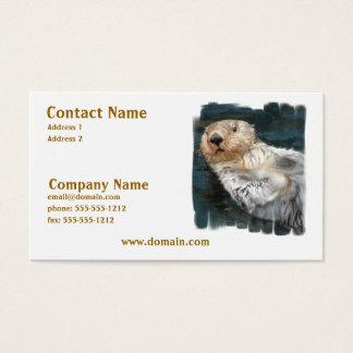 Sea Otter Business Card