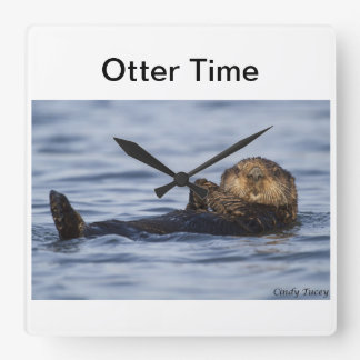 Sea Otter Clock