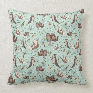 Sea Otter Cushion