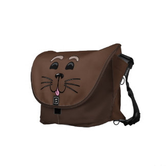 Sea Otter - Cute Cartoon Messenger Bag