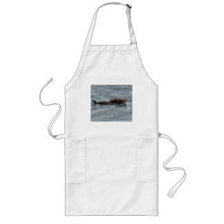 sea otter long apron