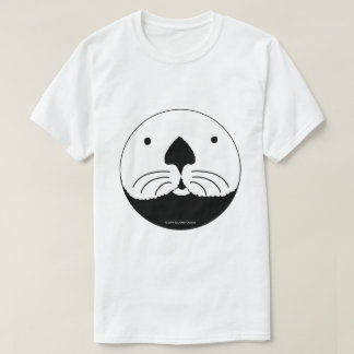 Sea Otter looking out of the round window T-Shirt