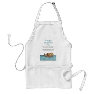Sea otter mothers day standard apron