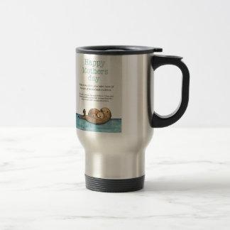 Sea otter mothers day travel mug