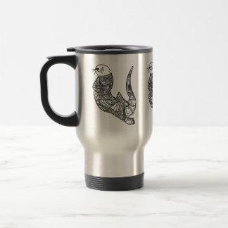 Sea Otter & Ocean Acidification Travel Mug