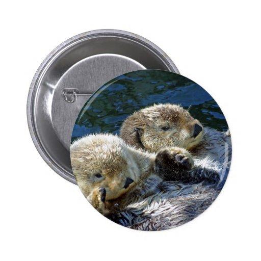 Sea-otters Pin