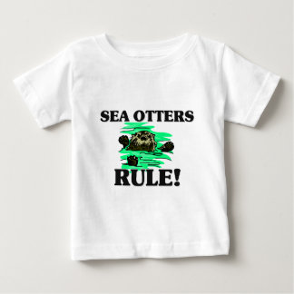 SEA OTTERS Rule! Baby T-Shirt