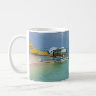 Sea Plane on Water Basic White Mug