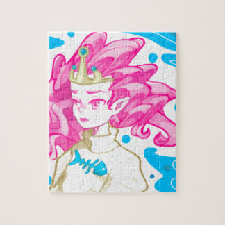 Sea princess jigsaw puzzle