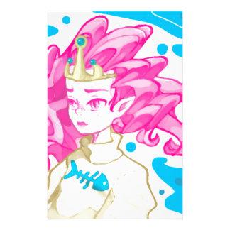 Sea princess stationery