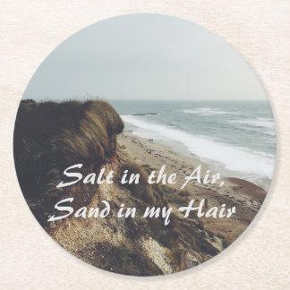 Sea salt coaster