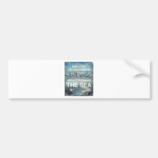 Sea Salt Water   Beach Ocean Bumper Sticker