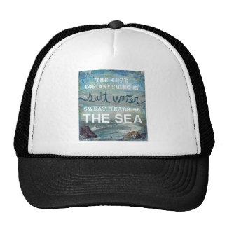 Sea Salt Water   Beach Ocean Cap