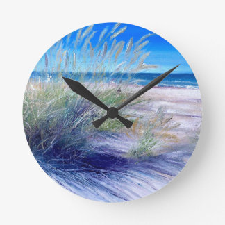 Sea & Sand Dunes Wall Clock