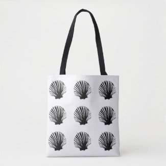Sea Scallop Tote Bag