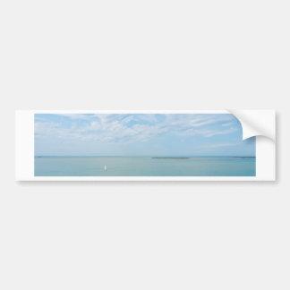 sea scape coming home bumper sticker