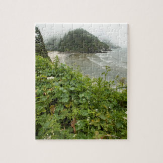 Sea scape, Yechats, Oregon Jigsaw Puzzle